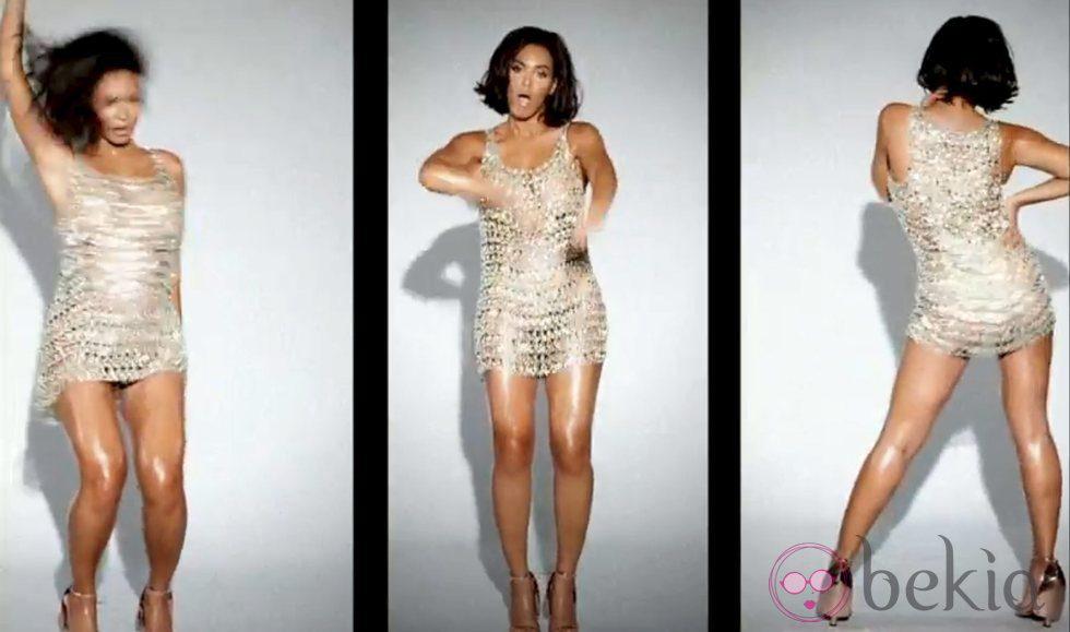 Beyonce con un vestido muy sexy en su último videoclip 'Countdown'