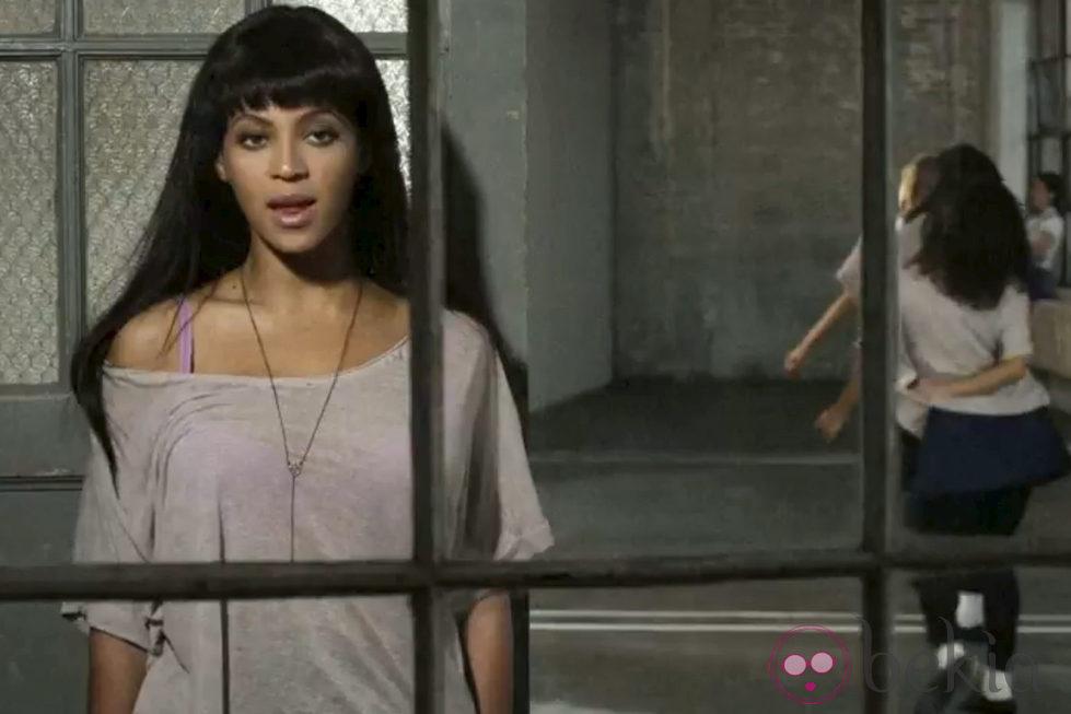 Nueva imagen de Beyonce en la grabación de su último videoclip 'Countdown'