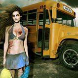 Ariadne Artiles se transforma en una zombie de 'The walking dead'