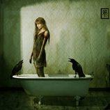 Cristina Tosio se transforma en una zombie de 'The walking dead'