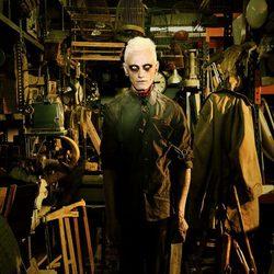 David Delfín se transforma en un zombie de 'The walking dead'