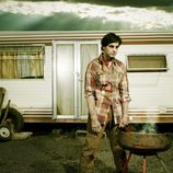 Fran Rivera se transforma en un zombie de 'The walking dead'