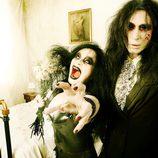 Mario Vaquerizo y Alaska se transforman en zombies de 'The walking dead'