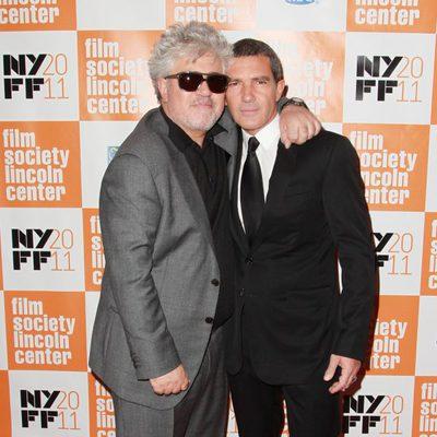 Pedro Almodóvar y Antonio Banderas estrenan 'La piel que habito' en el Festival de Nueva York