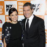 Antonio Banderas y Elena Anaya estrenan 'La piel que habito' en el Festival de Nueva York