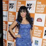 Celines Toribio en el estreno de 'La piel que habito' en el Festival de Nueva York