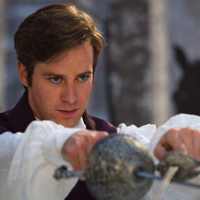 Armie Hammer es el príncipe de Blancanieves en la nueva versión del cuento
