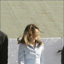 Descuidos famosas: Letizia Ortiz durante una visita oficial en Cádiz