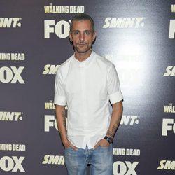 David Delfín en la presentación de la segunda temporada de 'The walking dead'