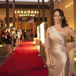 Nora Navas en el estreno de 'Pa negre' en la Muestra de Cine español de Los Ángeles