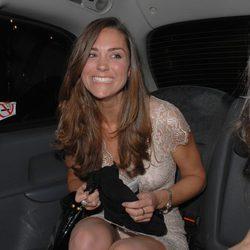 Kate Middleton enseña su ropa interior en un descuido