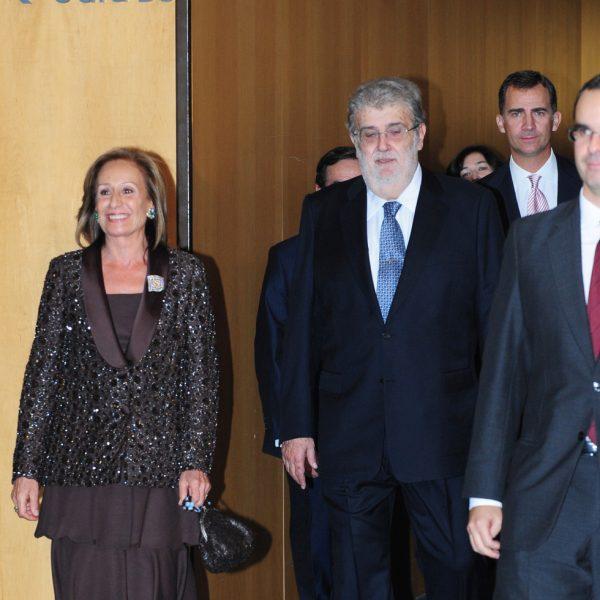 Los Príncipes de Asturias presiden los Premios Planeta 2011