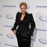 Patricia Arquette en la fiesta de la Fundación Clinton