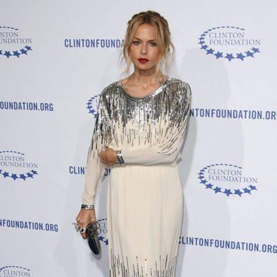 Rachel Zoe en la fiesta de la Fundación Clinton