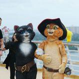 Los protagonistas de 'El Gato con Botas'