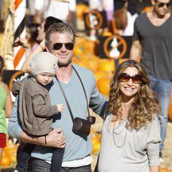 Eric Dane junto a su familia se preparan para Halloweem