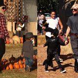Christina Aguilera y Gwen Stefany en busca de su calabaza