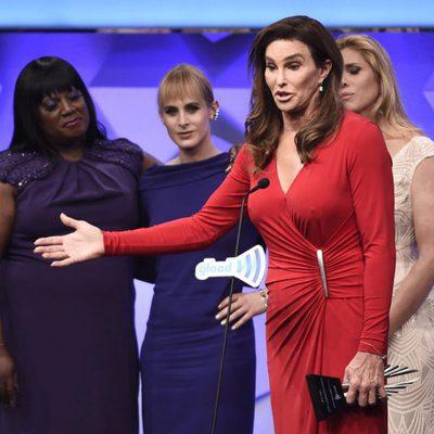 Caitlyn Jenner durante los Premios GLAAD Media 2016