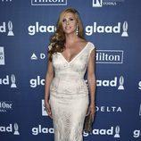 Candis Cayne en el photocall de los Premios GLAAD Media 2016