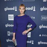 Zackary Drucker en el photocall de los Premios GLAAD Media 2016