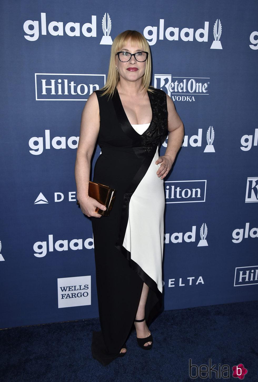 Patricia Arquette en el photocall de los Premios GLAAD Media 2016