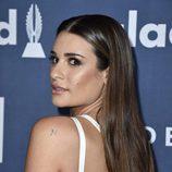 Lea Michele en el photocall de los Premios GLAAD Media 2016
