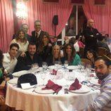 Paz Padilla, Diego Matamoros, Terelu Campos, Kiko Hernández, Ylenia, Belén Esteban, Raquel Bollo, La Junquera y Manuel Cortés de cena