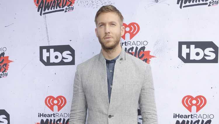 Calvin Harris en los Premios iHeartRadio Music 2016