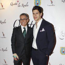 Kiko Hernández y Diego Matamoros en la cena benéfica de la ONG 'Mensajeros por la Paz'