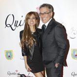 Kiko Hernández e Ylenia en la cena benéfica de la ONG 'Mensajeros por la Paz'