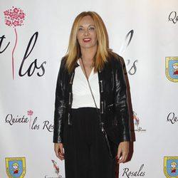 Belén Rodríguez en la cena benéfica de la ONG 'Mensajeros por la Paz'