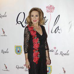 Rosa Benito en la cena benéfica de la ONG 'Mensajeros por la Paz'