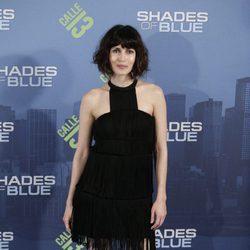 Nerea Barros en el estreno en Madrid de 'Shades of Blue' en Madrid