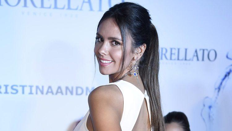 Cristina Pedroche desfilando para la nueva línea de joyas 'Morellato'