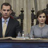 Los Reyes Felipe y Letizia en la Universidad de Salamanca