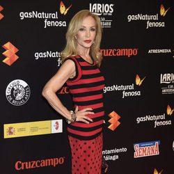Carmen Lomana en la presentación del Festival de Málaga 2016 en Madrid