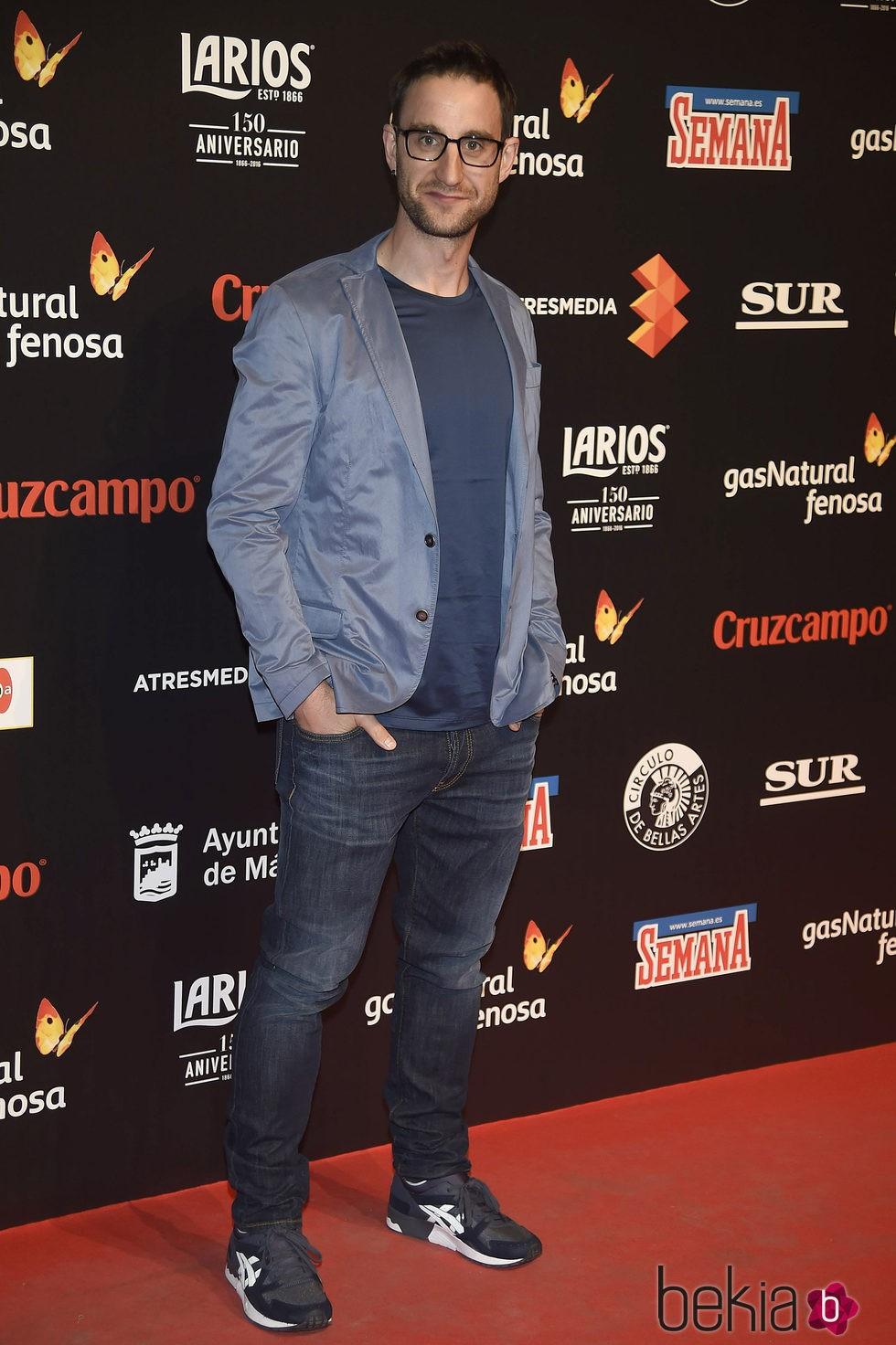 Dani Rovira en la presentación del Festival de Málaga 2016 en Madrid