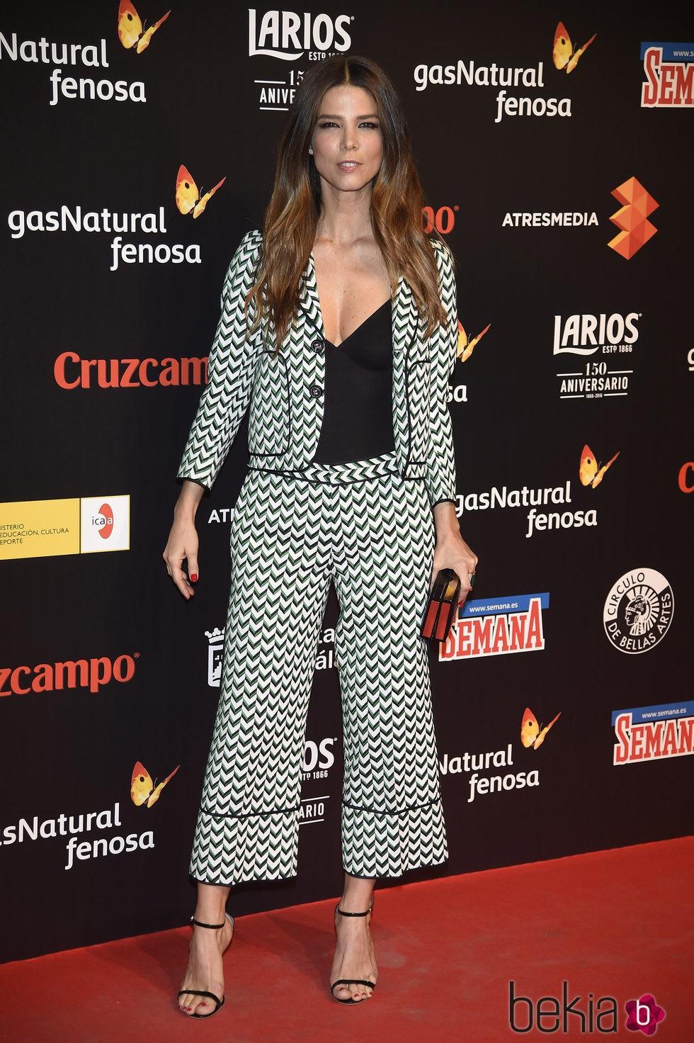 Juana Acosta en la presentación del Festival de Málaga 2016 en Madrid