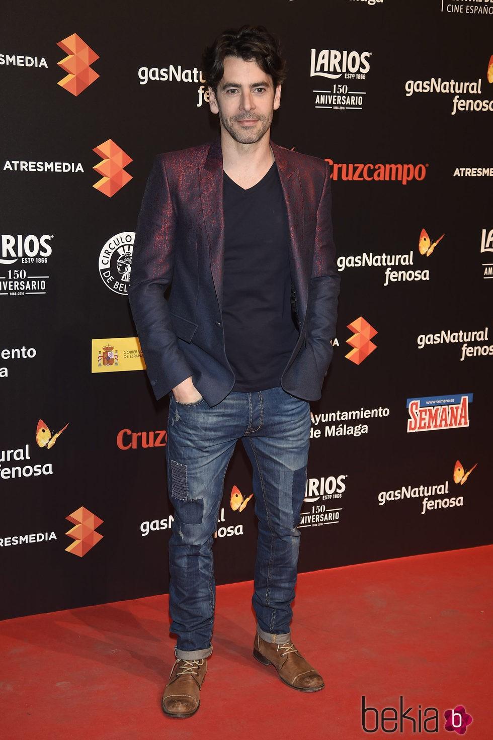 Eduardo Noriega en la presentación del Festival de Málaga 2016 en Madrid