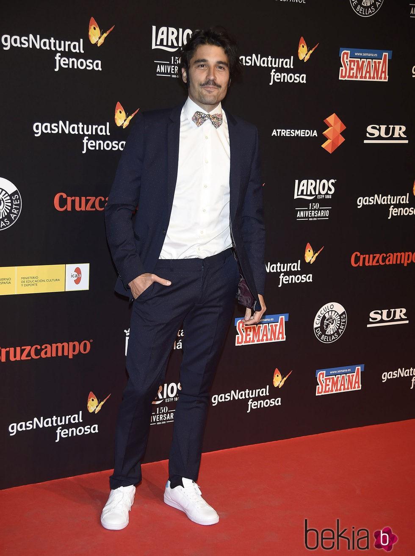 Álex García en la presentación del Festival de Málaga 2016 en Madrid
