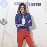 Sandra Barneda en la presnetación de 'Supervivientes 2016'