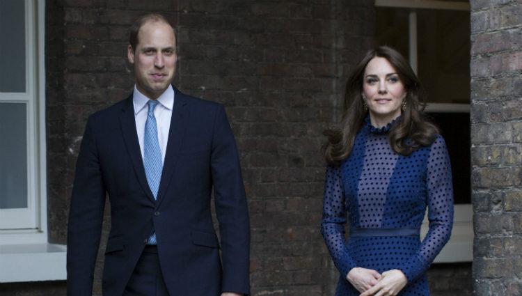 Los Duques de Cambridge en una recepción en el Palacio de Kensington en Londres