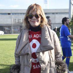 María Adánez en el Partido Solidario para el Orfanato de Malabo