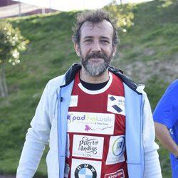 José Luis García Pérez en el Partido Solidario para el Orfanato de Malabo