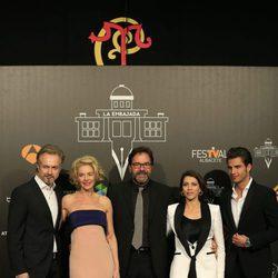 Belén Rueda, Tristán Ulloa, Maxi Iglesias, Abel Folk y Alicia Borrachero en el FesTVal de Albacete 2016