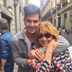 Mila Ximénez y Alejandro Nieto en Madrid