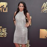 Jenelle Evans en alfombra roja de los MTV Movie Awards 2016