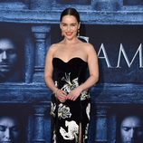 Emilia Clarke en la premiere de la sexta temporada de 'Juego de Tronos'.