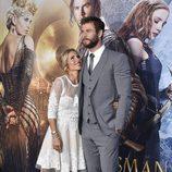 Elsa Pataky, enamorada de Chris Hemsworth en el estreno de 'Las crónicas de Blancanieves: El cazador y la reina del hielo' en Los Angeles