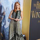 Jessica Chastain en el estreno de 'Las crónicas de Blancanieves: El cazador y la reina del hielo' en Los Angeles